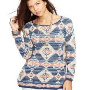 Ralph Lauren Denim & Supply Aztec Tribal Sweater